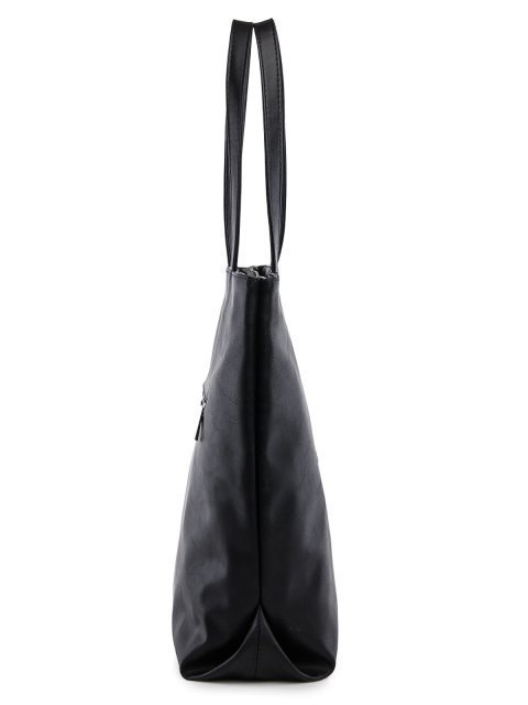 Чёрный шоппер S.Lavia (Славия) - артикул: 1219 323 01  - ракурс 2
