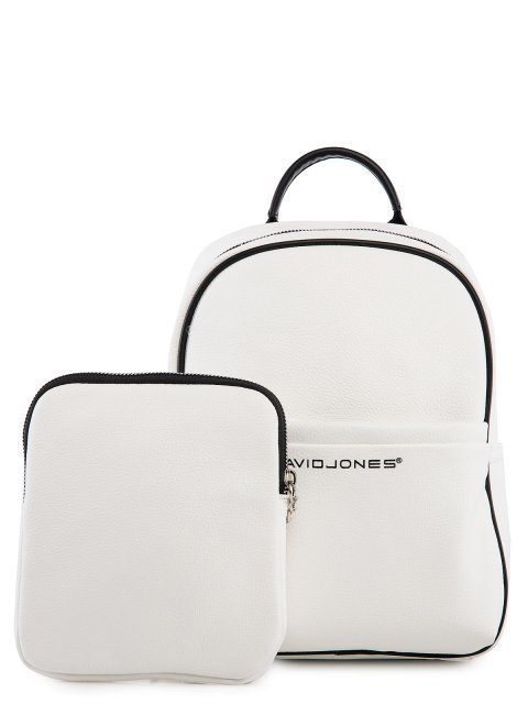 Белый рюкзак David Jones (Дэвид Джонс) - артикул: 0К-00026060 - ракурс 5