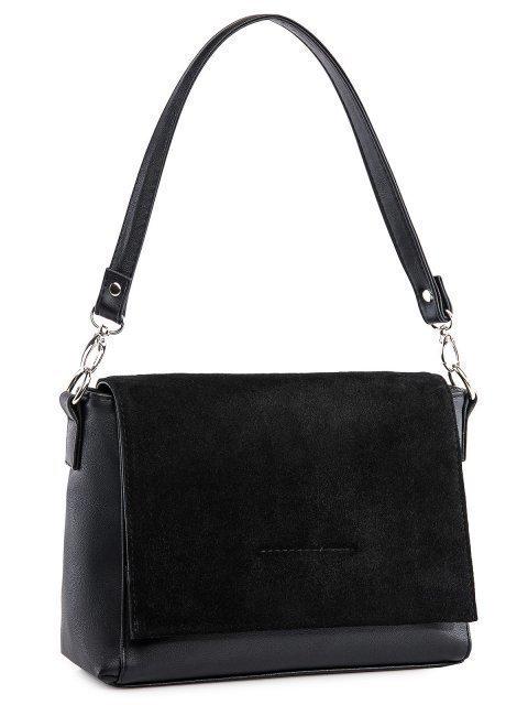Чёрная сумка планшет S.Lavia (Славия) - артикул: 1244 99 01  - ракурс 1