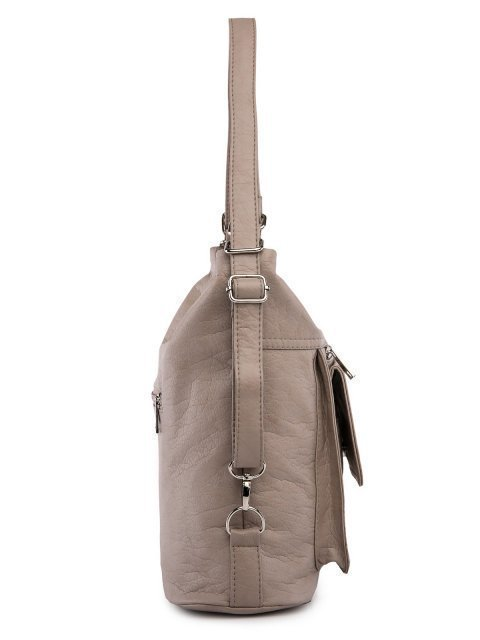 Бежевая сумка мешок S.Lavia (Славия) - артикул: 980 601 25 - ракурс 2
