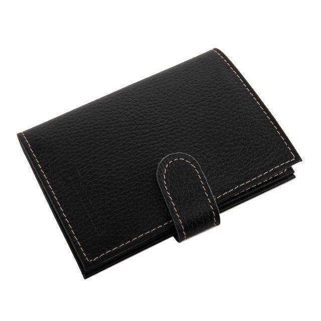 Чёрная обложка для документов Кайман - 799.00 руб