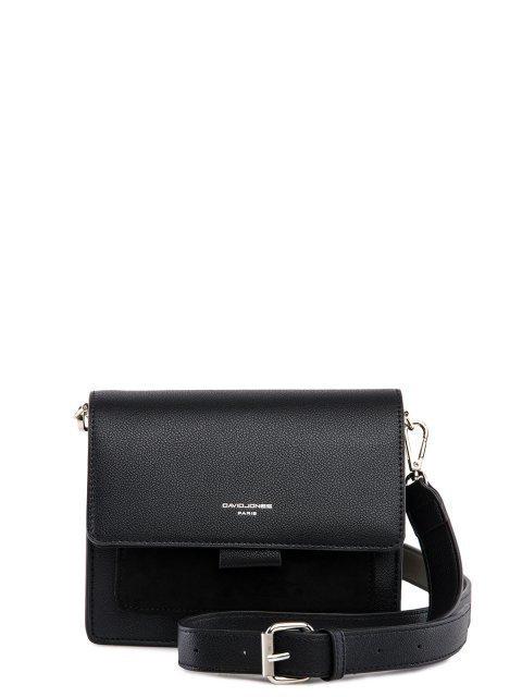 Чёрная сумка планшет David Jones - 1499.00 руб