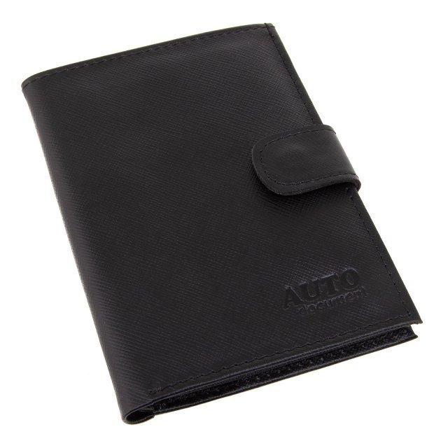 Чёрная обложка для документов S.Lavia - 856.00 руб