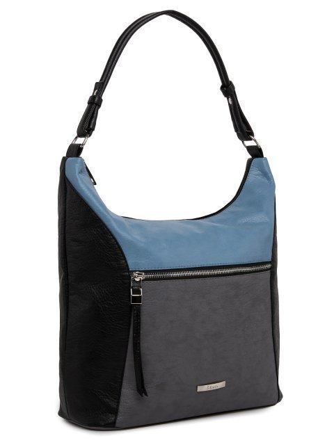 Чёрная сумка мешок S.Lavia (Славия) - артикул: 1187 601 01  - ракурс 1