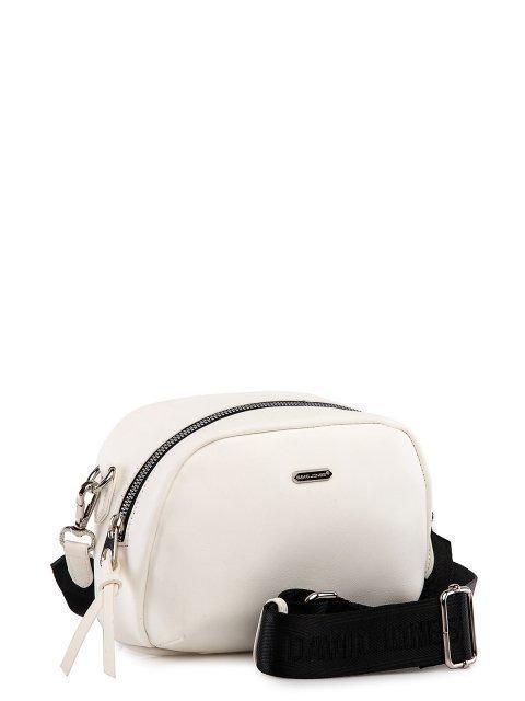 Белая сумка планшет David Jones (Дэвид Джонс) - артикул: 0К-00026157 - ракурс 1