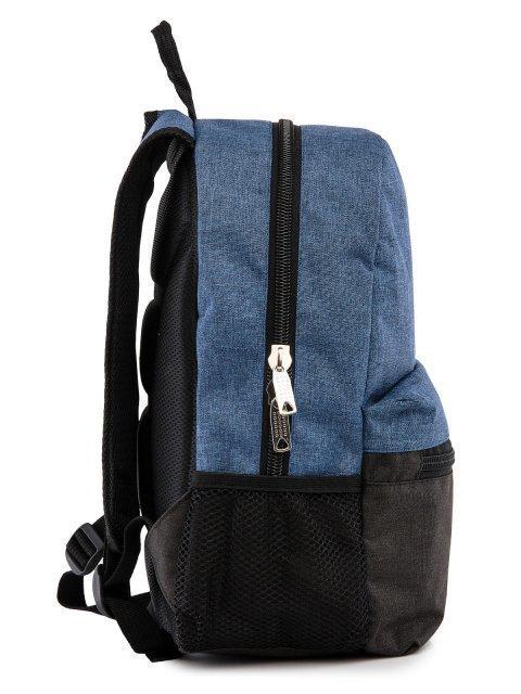 Синий рюкзак Lbags (Эльбэгс) - артикул: 0К-00029122 - ракурс 2