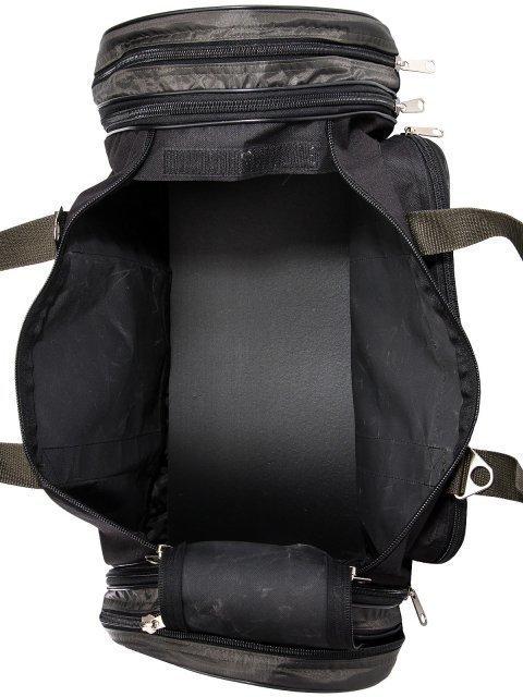 Зелёная дорожная сумка Lbags (Эльбэгс) - артикул: 0К-00027783 - ракурс 4