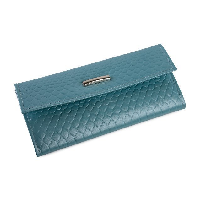 Голубое портмоне Кайман - 1399.00 руб