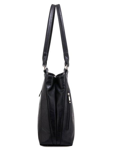 Чёрная сумка классическая S.Lavia (Славия) - артикул: 047 512 01 - ракурс 2