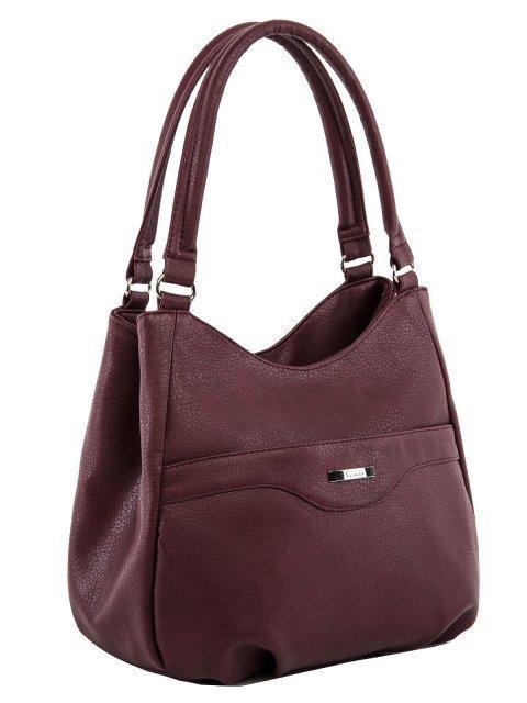 Бордовая сумка классическая S.Lavia (Славия) - артикул: 1176 860 03 - ракурс 1