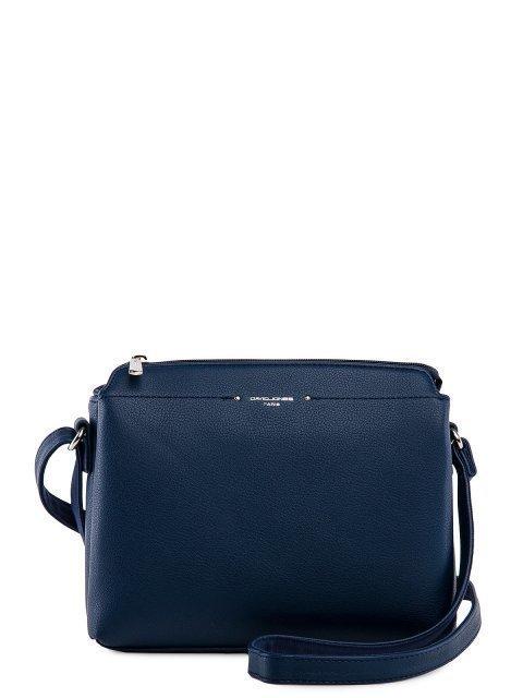 Синяя сумка планшет David Jones - 2399.00 руб