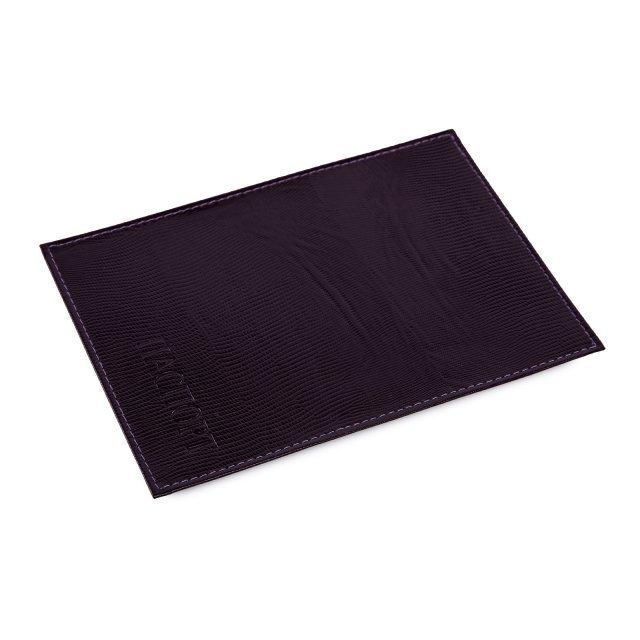 Фиолетовая обложка для документов Кайман - 299.00 руб