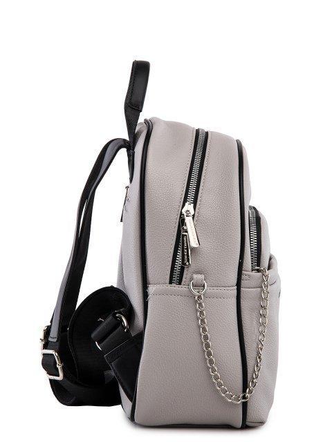 Серый рюкзак David Jones (Дэвид Джонс) - артикул: 0К-00026059 - ракурс 3