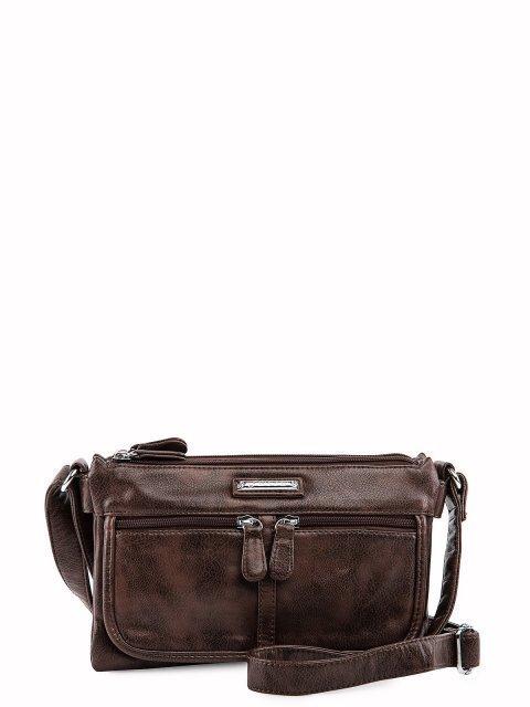 Коричневая сумка планшет Sarsa - 2099.00 руб