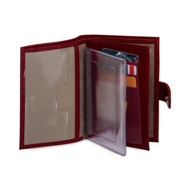 Красная обложка для документов S.Lavia (Славия) - артикул: К0000016348 - ракурс 2