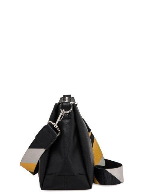 Чёрная сумка планшет S.Lavia (Славия) - артикул: 1175 910 01 - ракурс 2