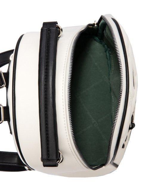 Белый рюкзак David Jones (Дэвид Джонс) - артикул: 0К-00025966 - ракурс 4