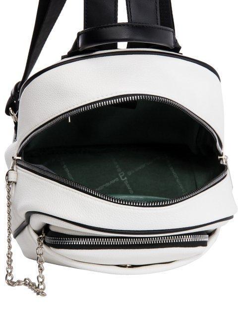 Белый рюкзак David Jones (Дэвид Джонс) - артикул: 0К-00026060 - ракурс 4