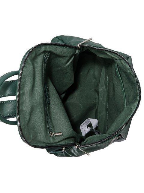 Зелёный рюкзак David Jones (Дэвид Джонс) - артикул: 0К-00026219 - ракурс 4