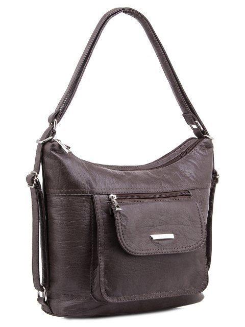 Коричневая сумка мешок S.Lavia (Славия) - артикул: 1044 601 12 - ракурс 2