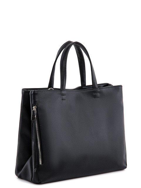 Чёрная сумка классическая S.Lavia (Славия) - артикул: 940 902 01 - ракурс 1