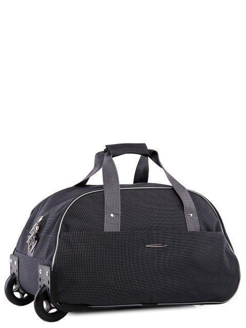 Серый чемодан Lbags (Эльбэгс) - артикул: К0000015899 - ракурс 1