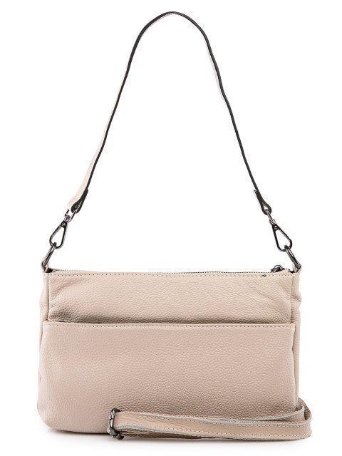 Бежевая сумка планшет Polina (Полина) - артикул: 0К-00027770 - ракурс 3