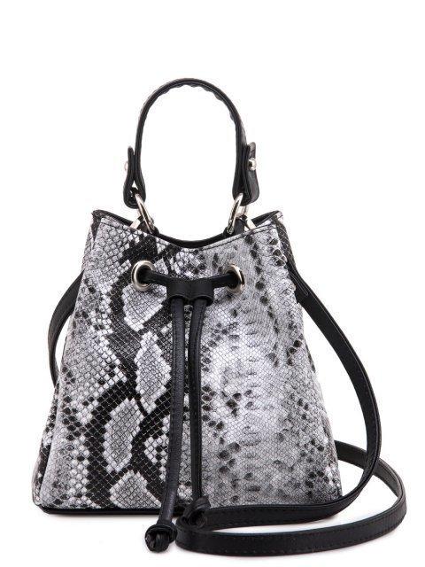 Чёрная сумка мешок S.Lavia - 1609.00 руб