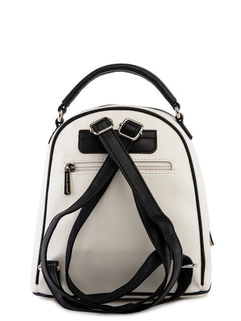 Белый рюкзак David Jones (Дэвид Джонс) - артикул: 0К-00025966 - ракурс 3