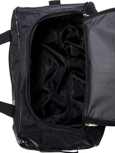 Чёрный чемодан Lbags (Эльбэгс) - артикул: К0000015902 - ракурс 5