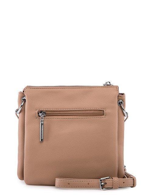 Бежевая сумка планшет Polina (Полина) - артикул: 0К-00027761 - ракурс 3