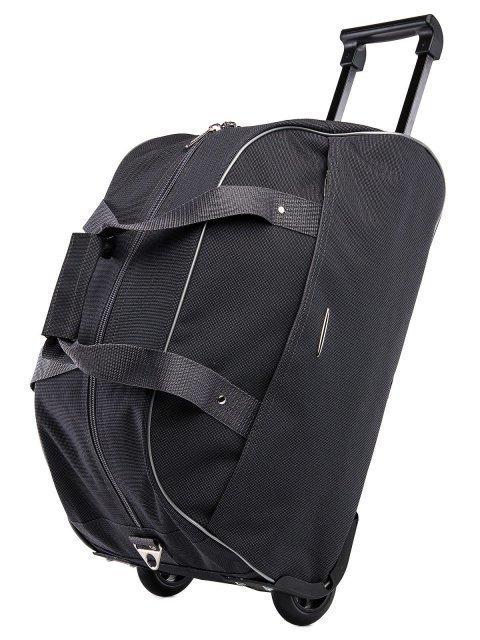 Серый чемодан Lbags (Эльбэгс) - артикул: К0000015899 - ракурс 5