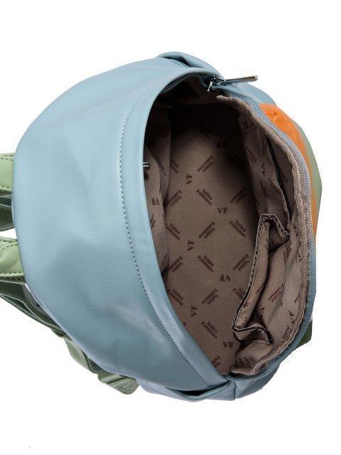 Голубой рюкзак Fabbiano (Фаббиано) - артикул: 0К-00023734 - ракурс 4