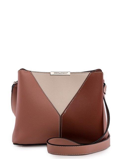 Розовая сумка планшет David Jones - 2349.00 руб