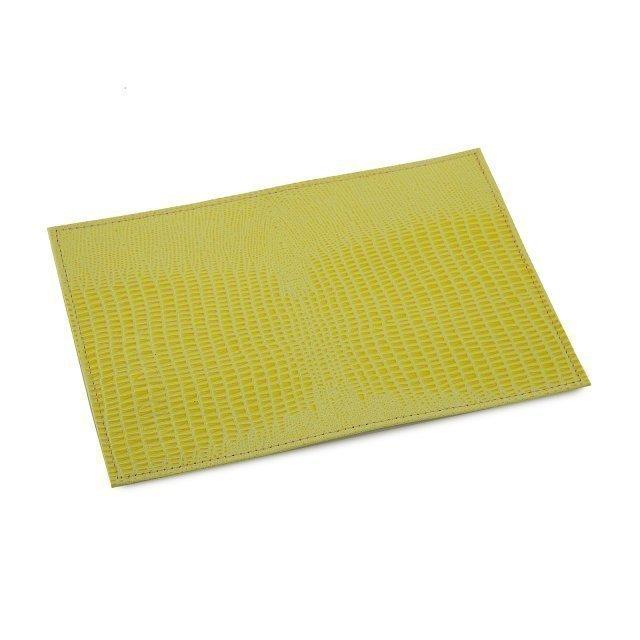 Жёлтая обложка для документов Кайман - 299.00 руб
