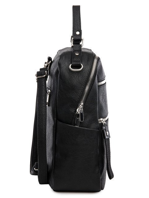 Чёрный рюкзак S.Lavia (Славия) - артикул: 1215 598 01  - ракурс 2