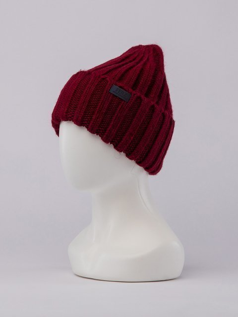 Бордовая шапка FERZ (FERZ) - артикул: 0К-00032211 - ракурс 1