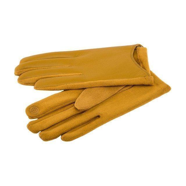 Горчичные перчатки Angelo Bianco - 399.00 руб