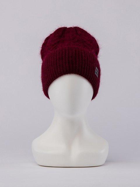 Бордовая шапка FERZ - 1699.00 руб