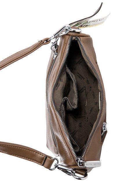 Коричневый кросс-боди Fabbiano (Фаббиано) - артикул: 0К-00032904 - ракурс 4