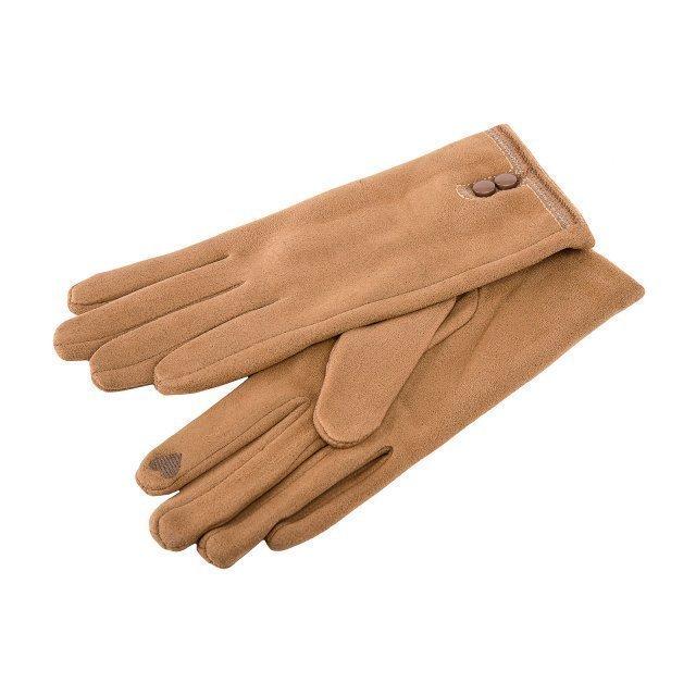 Бежевые перчатки Angelo Bianco - 399.00 руб