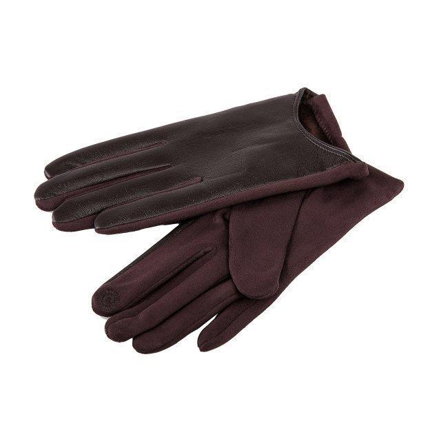 Коричневые перчатки Angelo Bianco - 399.00 руб