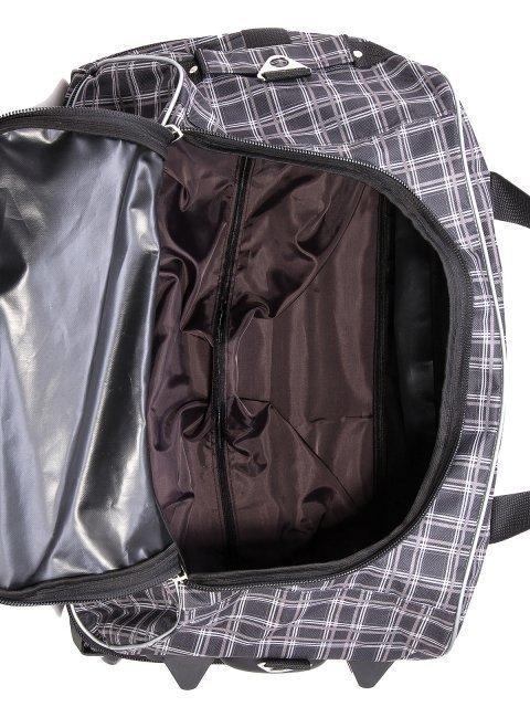 Серый чемодан Lbags (Эльбэгс) - артикул: К0000018620 - ракурс 5