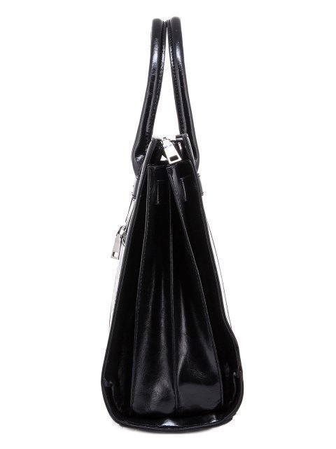 Чёрная прямоугольная сумка Domenica (Domenica) - артикул: 0К-00003280 - ракурс 2