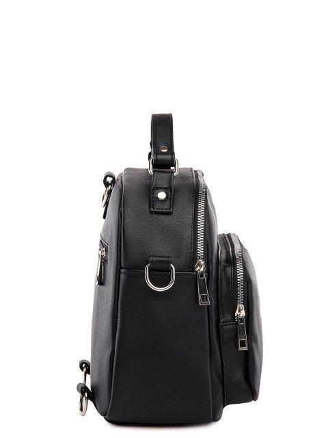 Чёрный рюкзак S.Lavia (Славия) - артикул: 1246 910 01 - ракурс 3