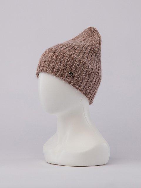Темно-бежевая шапка FERZ (FERZ) - артикул: 0К-00032186 - ракурс 1