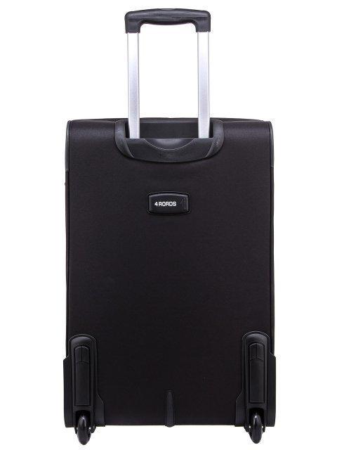 Чёрный чемодан 4 Roads (4 Roads) - артикул: 0К-00006589 - ракурс 3