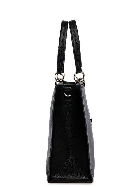 Чёрная сумка классическая S.Lavia (Славия) - артикул: 1031__1031 94.01 - ракурс 2