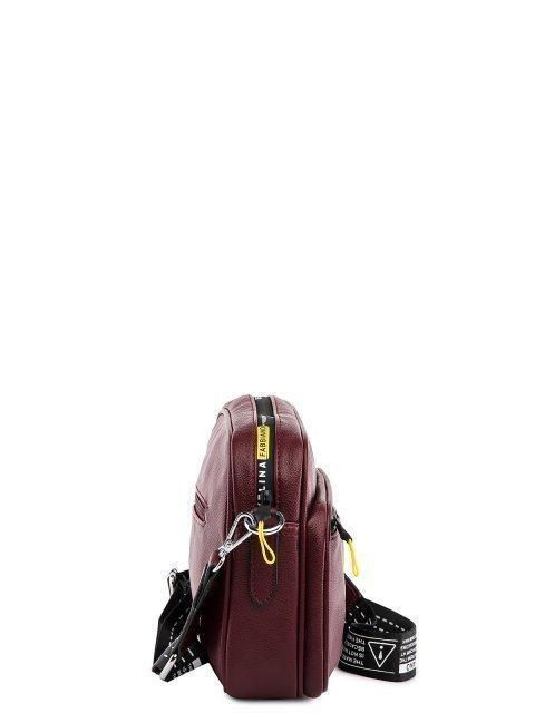 Бордовый кросс-боди Fabbiano (Фаббиано) - артикул: 0К-00032970 - ракурс 2