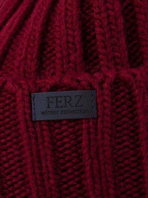 Бордовая шапка FERZ (FERZ) - артикул: 0К-00032211 - ракурс 2